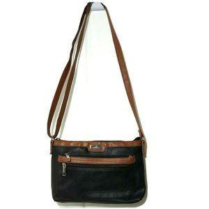 Minicci Faux Leather Crossbody Purse Shoulder Bag